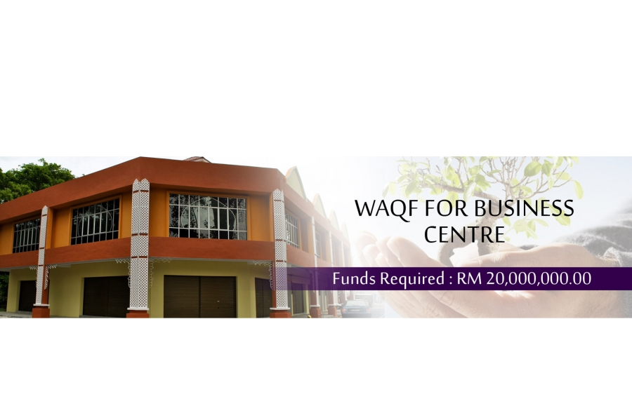 WAQF for BUSINESS CENTRE (WBC)