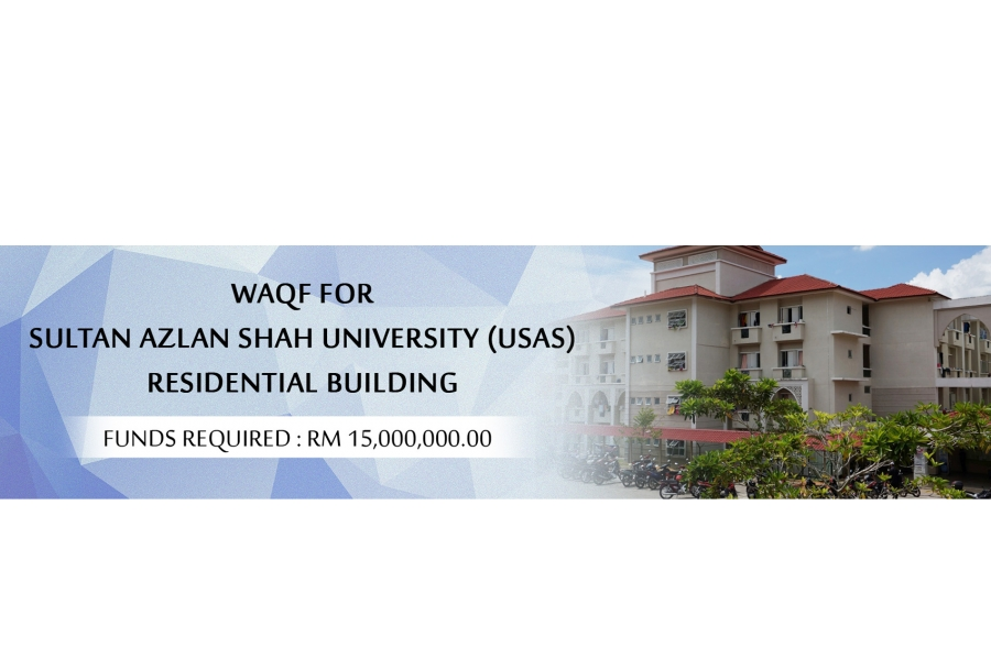 Waqf For SULTAN AZLAN SHAH UNIVERSITY (USAS) RESIDENTIAL BUILDING